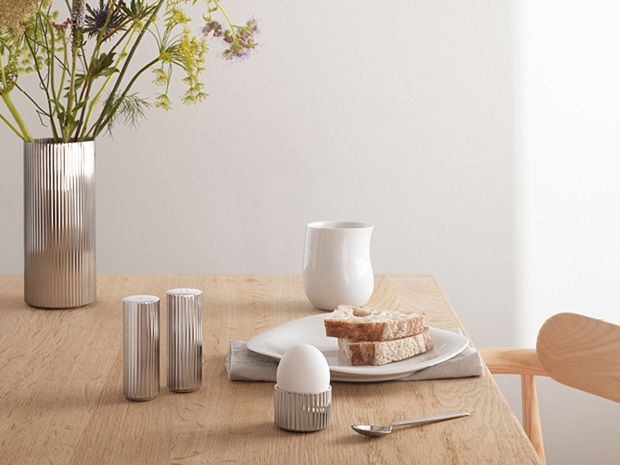 bernadotte tableware in stainless steel