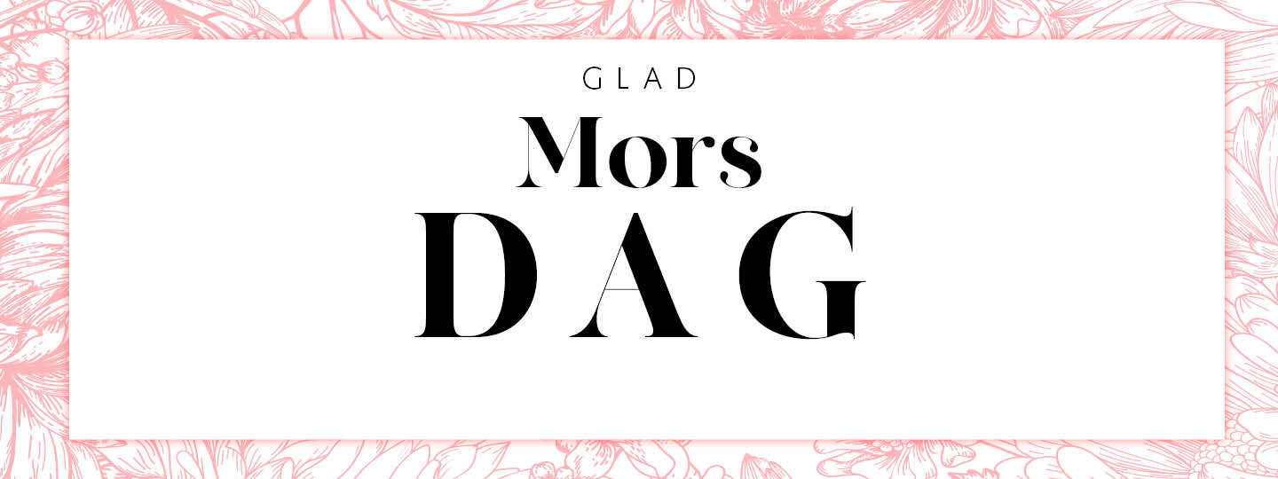 Mother's Day 2021 campaign banner for Sweden