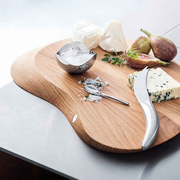 Georg Jensen Forma cheese set