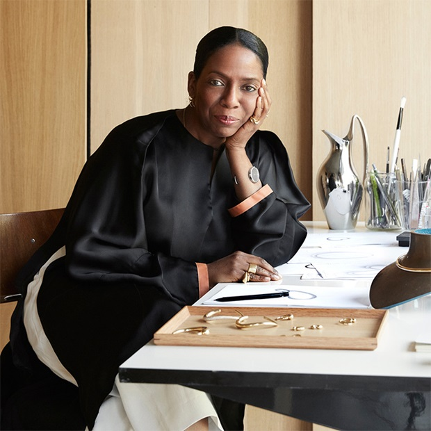 American contemporary jewellery designer Jacqueline Rabun is an author of Cave, Mercy and Offspring collections