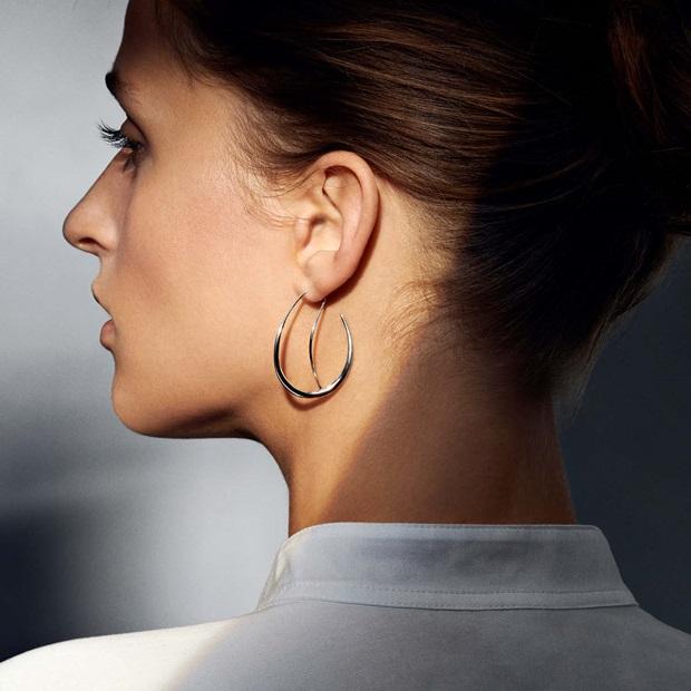 offspring earring in sterling silver
