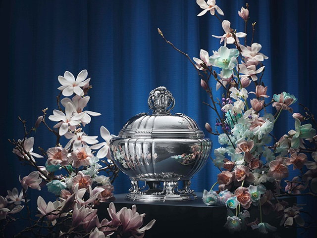 Tureen masterpiece in sterling silver