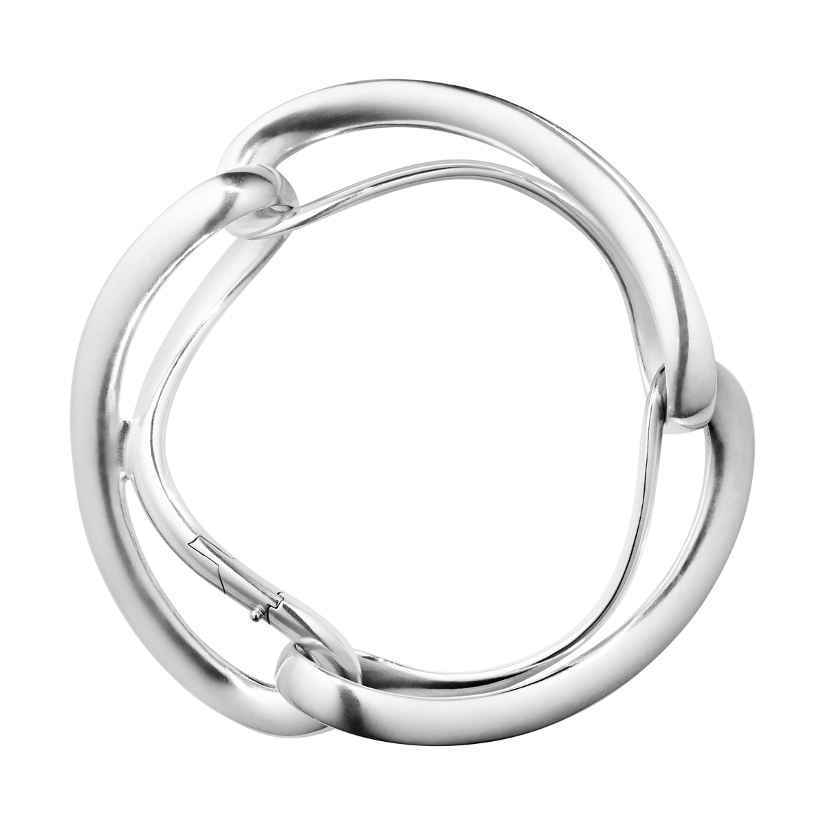 Infinity Wine Coolers: INFINITY Sterling Silver Bangle, 3 Links I Georg Jensen