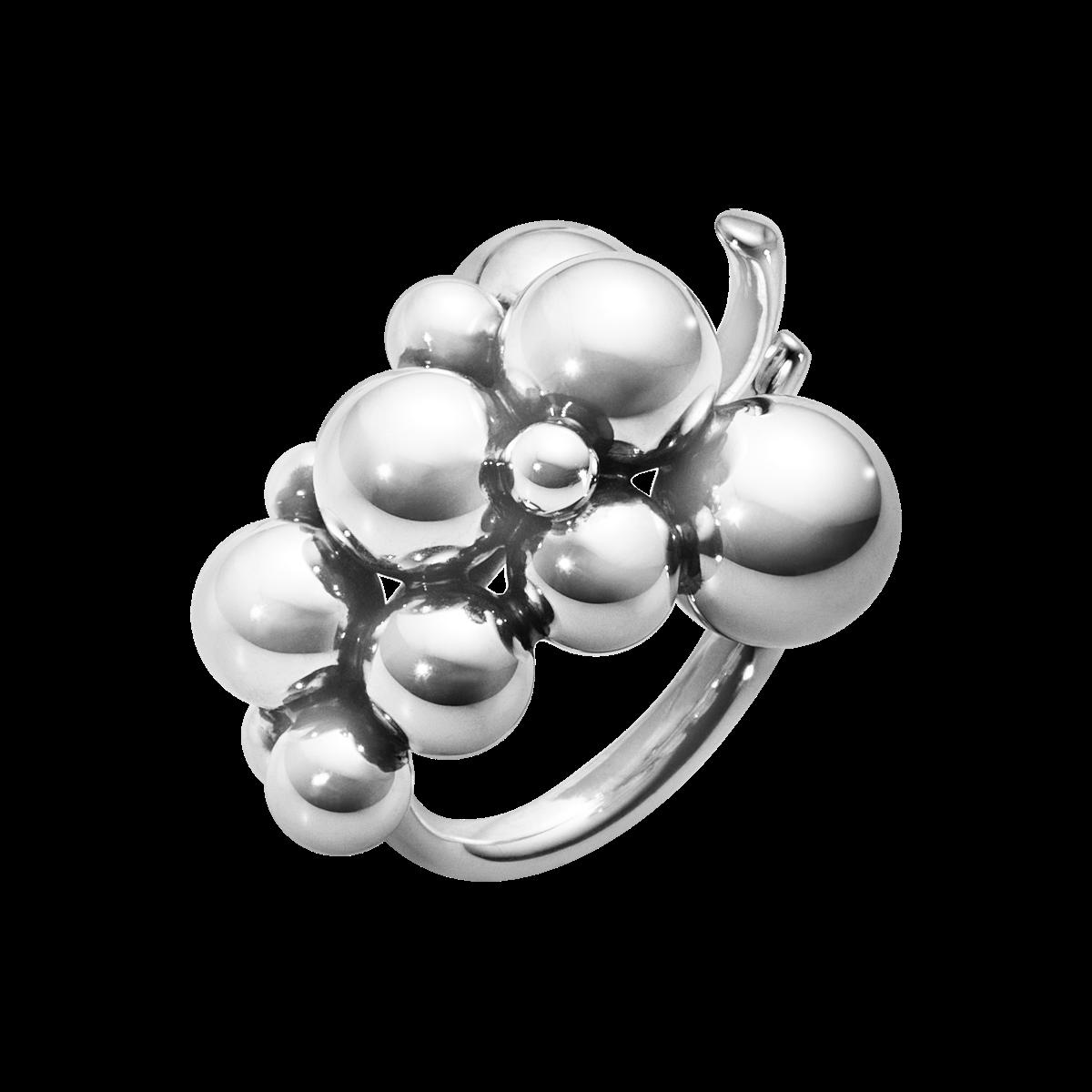 Moonlight Grapes Ring In Sterling Silver Medium Georg