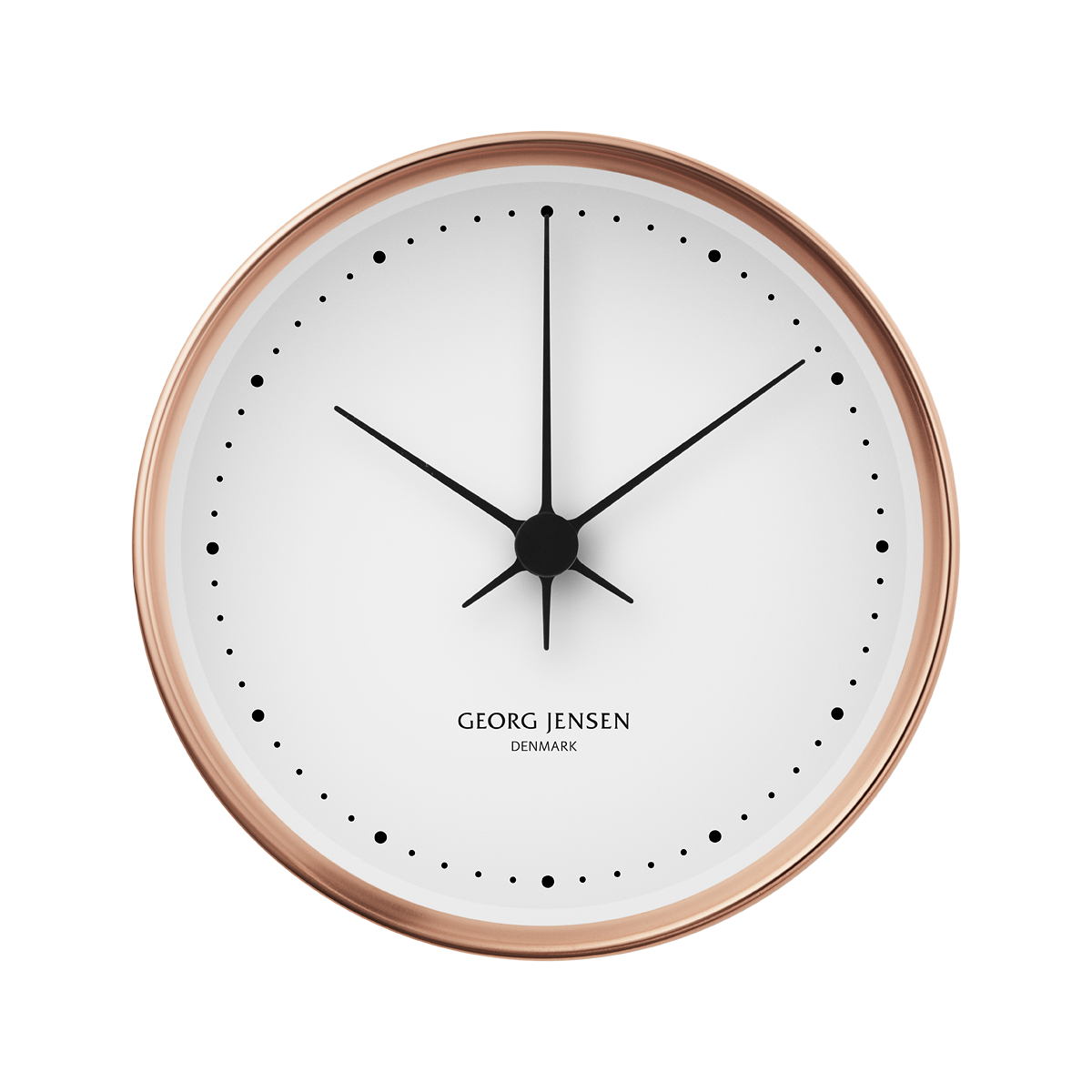 Koppel 22 cm wall clock copper with white dial amipublicfo Image collections