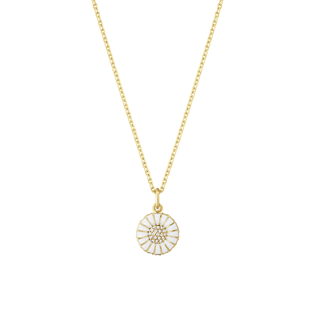 pendant elements plated and daisy ladies gold silver from image
